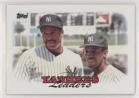 1987 Team Leaders - New York Yankees