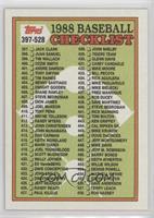Checklist - 397-528 (455. Steve Carlton)