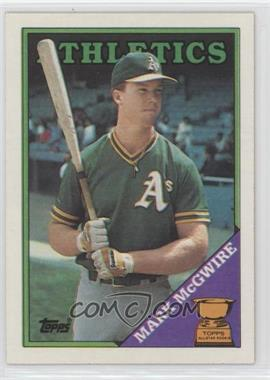 1988 Topps - [Base] #580 - Topps All-Star Rookie - Mark McGwire
