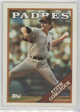 1988 Topps - [Base] #778.1 - Keith Comstock (Padres in White)