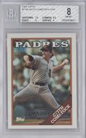 Keith Comstock (Padres in White) [BGS 8]