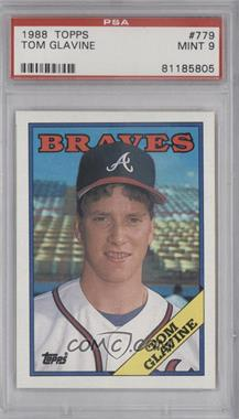 1988 Topps - [Base] #779 - Tom Glavine [PSA 9]