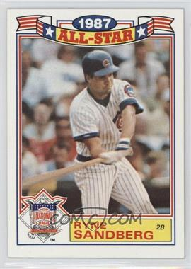1988 Topps - Rack Pack Glossy All-Stars #14 - Ryne Sandberg