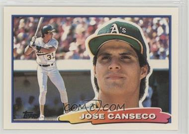 1988 Topps Big Base 13 Jose Canseco