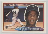 Rickey Henderson (B* on Back)