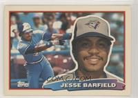 Jesse Barfield (B* on Back) [EX to NM]