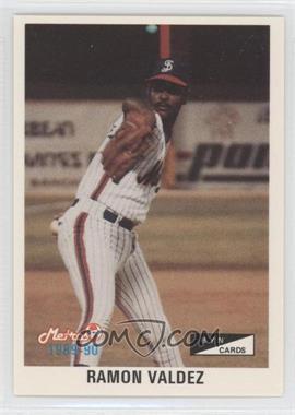 1989-90 BYN Puerto Rico Winter League - [Base] #018 - Ramon Valdez