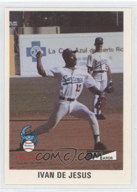 1989-90 BYN Puerto Rico Winter League - [Base] #140 - Ivan DeJesus