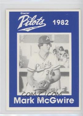 1989 Anchorage Glacier Pilots 1982 Mark McGwire - [Base] #MAMC - Mark McGwire