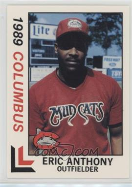 1989 Best Columbus Mudcats - [Base] #1 - Eric Anthony