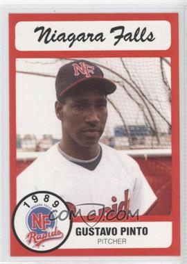 1989 Bill Pucko Niagara Falls Rapids - [Base] #19 - Gustavo Pinto
