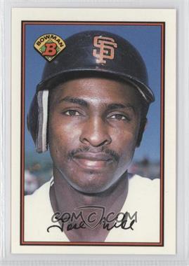 1989 Bowman - [Base] - Collector's Edition (Tiffany) #471 - Jose Uribe