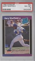 Gary Sheffield (*Denotes  Next to PERFORMANCE) [PSA 8 NM‑MT]