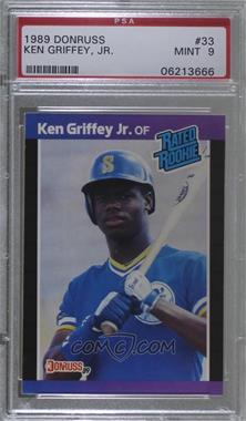 1989 Donruss - [Base] #33 - Ken Griffey Jr. [PSA9MINT]