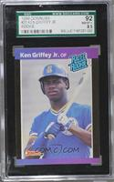 Ken Griffey Jr. [SGC 92 NM/MT+ 8.5]