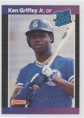 1989 Donruss - [Base] #33.1 - Ken Griffey Jr. (*Denotes*  Next to PERFORMANCE)