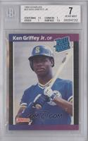 Ken Griffey Jr. (*Denotes*  Next to PERFORMANCE) [BGS 7 NEAR MIN…