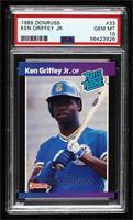 Ken Griffey Jr. (*Denotes*  Next to PERFORMANCE) [PSA10GEMMT]