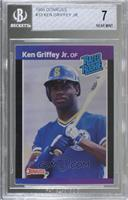 Ken Griffey Jr. (*Denotes  Next to PERFORMANCE) [BGS 7 NEAR MINT]
