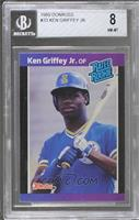 Ken Griffey Jr. (*Denotes  Next to PERFORMANCE) [BGS 8 NM‑MT]