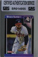Bruce Sutter (*Denotes*  Next to PERFORMANCE) [CASCertifiedSealed]