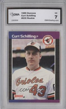 1989 Donruss - [Base] #635 - Curt Schilling [ENCASED]