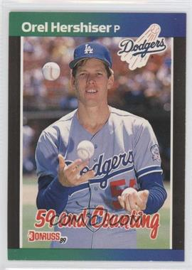 1989 Donruss - [Base] #648 - Orel Hershiser