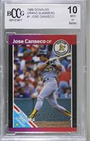 Jose Canseco (Reddish Color on Top) [BCCG Mint]