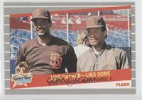 Super Star Specials - Like Father - Like Sons (Roberto Alomar, Sandy Alomar Jr.)