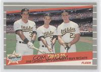Super Star Specials - Triple A's (Jose Canseco, Terry Steinbach, Mark McGwire)