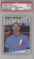 Randy Johnson (Partially Blacked Out Billboard) [PSA9MINT]