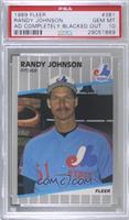 Randy Johnson (Completely Blacked Out Billboard) [PSA10GEMMT]