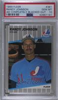 Randy Johnson (Completely Blacked Out Billboard) [PSA 10 GEM MT]