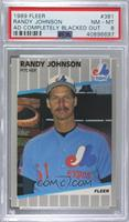 Randy Johnson (Completely Blacked Out Billboard) [PSA8NM‑MT]