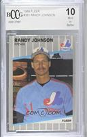 Randy Johnson (Completely Blacked Out Billboard) [BCCG Mint]