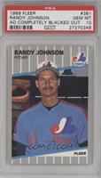 Randy Johnson (Completely Blacked Out Billboard) [PSA10]