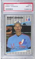 Randy Johnson (Completely Blacked Out Billboard) [PSA 9]