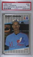 Randy Johnson (Completely Blacked Out Billboard) [PSA7NM]
