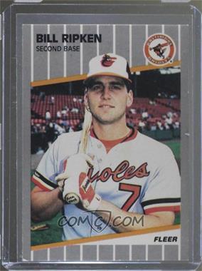 1989 Fleer - [Base] #616.1 - Bill Ripken (FF on Bat Knob)