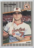 Bill Ripken (FF on Bat Knob)
