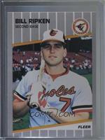 Bill Ripken (Black Scribble on Bat Knob)