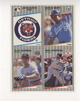 Detroit Tigers Logo, George Brett, Alan Trammell, Mike Greenwell [EXto&nb…