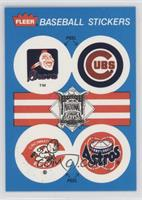 Atlanta Braves, Chicago Cubs, Cincinati Reds, Houston Astros