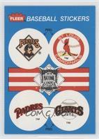 Pittsburgh Pirates Team, St. Louis Cardinals Team, San Diego Padres Team, San F…
