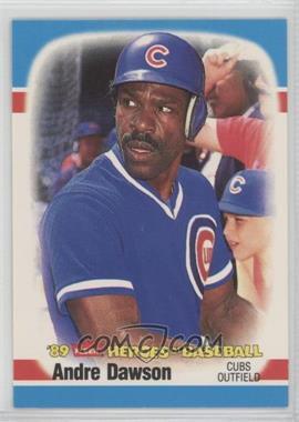 1989 Fleer Heroes of Baseball - Box Set [Base] #12 - Andre Dawson