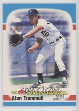 1989 Fleer Heroes of Baseball - Box Set [Base] #40 - Alan Trammell