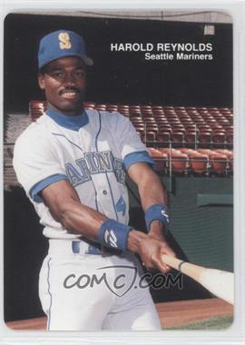 1989 Mother's Cookies Seattle Mariners - Stadium Giveaway [Base] #10 - Harold Reynolds