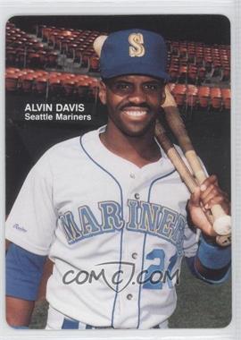 1989 Mother's Cookies Seattle Mariners - Stadium Giveaway [Base] #2 - Alvin Davis