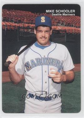 1989 Mother's Cookies Seattle Mariners - Stadium Giveaway [Base] #25 - Mike Schooler
