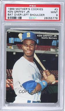 1989 Mother's Cookies Seattle Mariners - Stadium Giveaway [Base] #3 - Ken Griffey Jr. [PSA9]